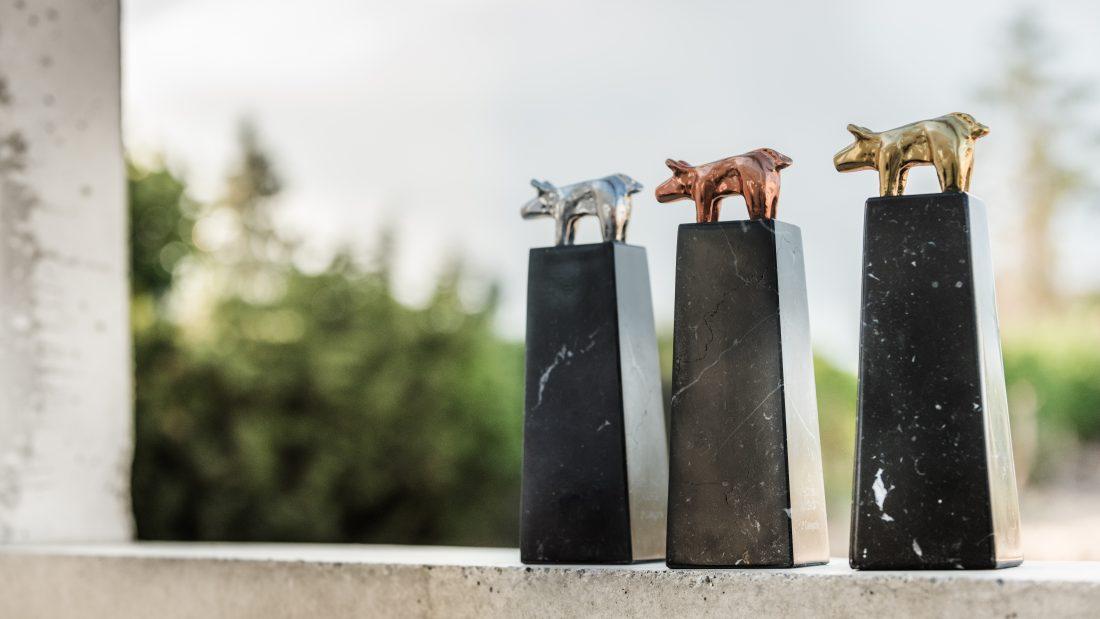 Estatuilla premio Porc d'Or